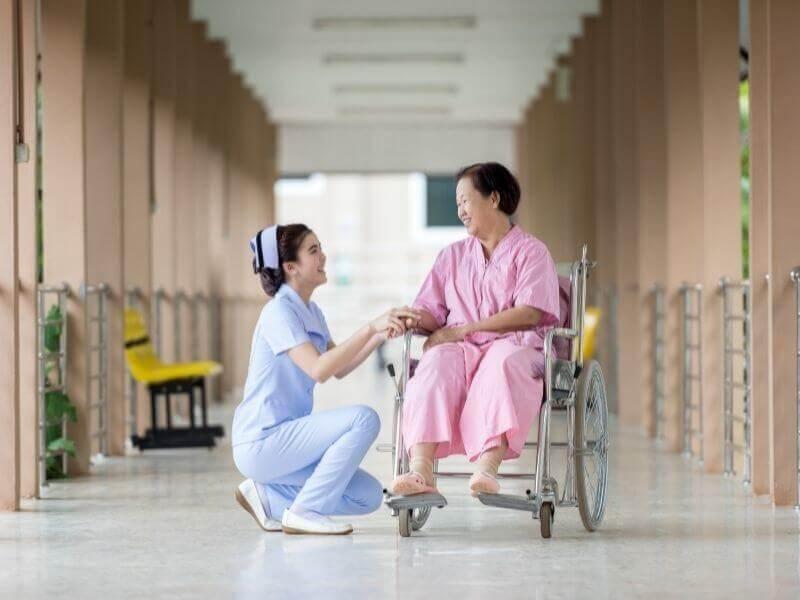 病院が大好きな高齢者
